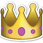 emoji Crown sticker by redcow