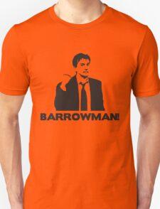BARROWMAN! David Tennant on Buzzcocks- Black Unisex T-Shirt