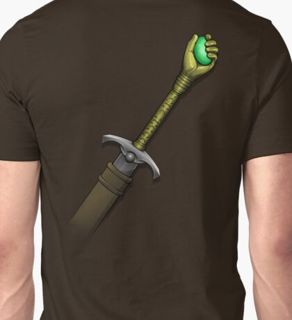 Hawk the Slayer (Mind Sword Back) Unisex T-Shirt