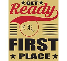 Get ready for first place. Photographic Print