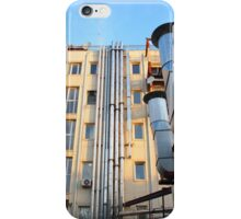 The back side of a multi-storey office building iPhone Case/Skin