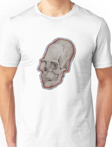 Elongated skull portrait Unisex T-Shirt