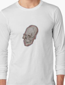 Elongated skull small Long Sleeve T-Shirt