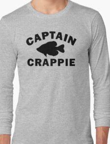 Captain Crappie Long Sleeve T-Shirt