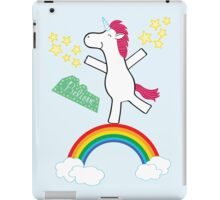 Believe - Happy Unicorn iPad Case/Skin