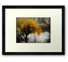 The fog rolls in... © Framed Print