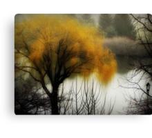 The fog rolls in... © Canvas Print