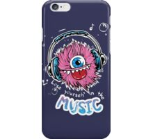 Lose Yourself in the music iPhone Case/Skin