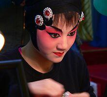 Chinese performer, Chengdu by Olivia  Gray