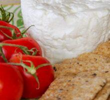 ~ Cheese & Tomatoes ~ Sticker