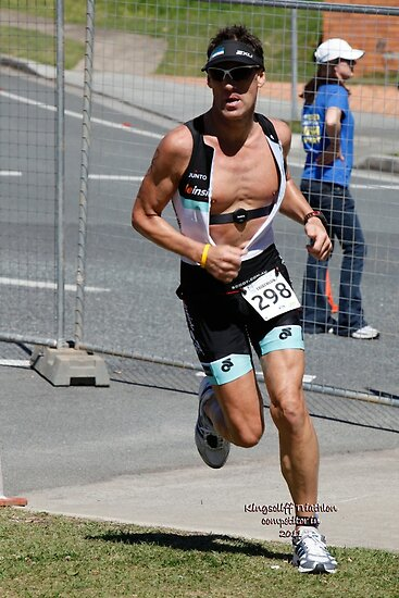 Kingscliff Triathlon 2011 Run leg C0213 by Gavin Lardner