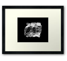 I am not a number 01 Framed Print