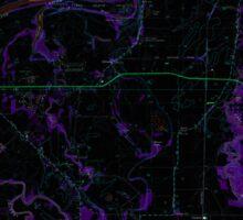 USGS Topo Map Oregon Riverside 281281 1969 24000 Inverted Sticker