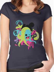 Zombie Nom Women's Fitted Scoop T-Shirt