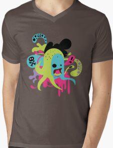 Zombie Nom Mens V-Neck T-Shirt