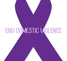 End Domestic Violence Ribbon by taylorlee
