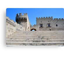 Palace of Grand Masters, Rhodes, Greece. Canvas Print