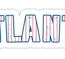 MLB City - Atlanta Sticker