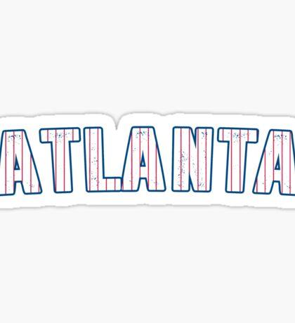 MLB City - Atlanta Sticker
