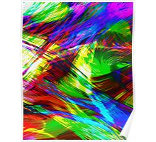 #art #coulor #abstract  Poster