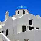 Chapel in Santorini Island. by FER737NG