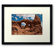 Cove Of Double Arches Framed Print