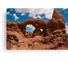 Cove Of Double Arches Canvas Print