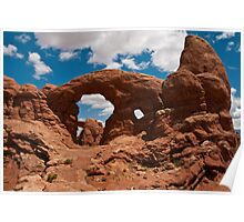 Cove Of Double Arches Poster