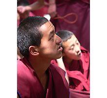 Portrait of a Tibetan Buddhist Monk Photographic Print