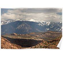 The La Salle Mountains Poster