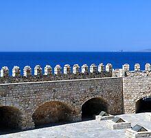 Fortification: Venetian castle (Koules), in Crete, Greece. by FER737NG