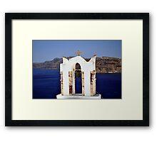 Church in Santorini.  Framed Print