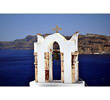 Church in Santorini.  Photographic Print