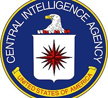 CIA Central Intelligence Agency Seal Sticker by ukedward