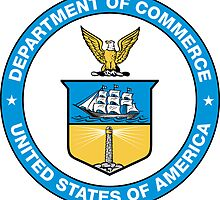 US Department of Commerce Seal Sticker by ukedward