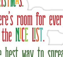 Buddy the Elf! The Code of Elves Sticker
