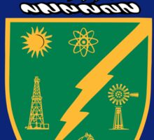 US Energy Department Seal Sticker Sticker