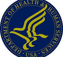 US Heath and Human Services Department Seal Sticker by ukedward