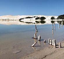 Sheringa lagoon by David Haworth