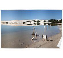Sheringa lagoon Poster