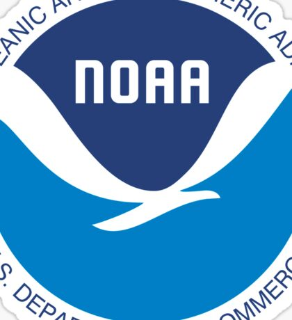 NOAA Oceanic Atmospheric Administration Seal Sticker Sticker