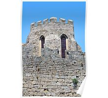 Medieval fortress of Rhodes, Greece. Poster