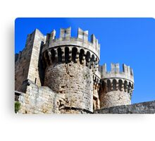 Medieval fortress of Rhodes. Metal Print