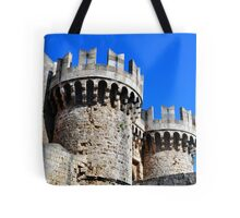 Medieval fortress of Rhodes. Tote Bag