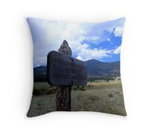 Backcountry  Throw Pillow