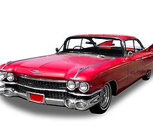 50's Cadillac by axemangraphics