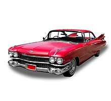 50's Cadillac Photographic Print