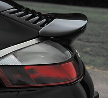 Porsche Turbo S 996 Tail No Whale by Daniel  Oyvetsky