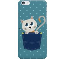 Cat In A Pocket iPhone Case/Skin