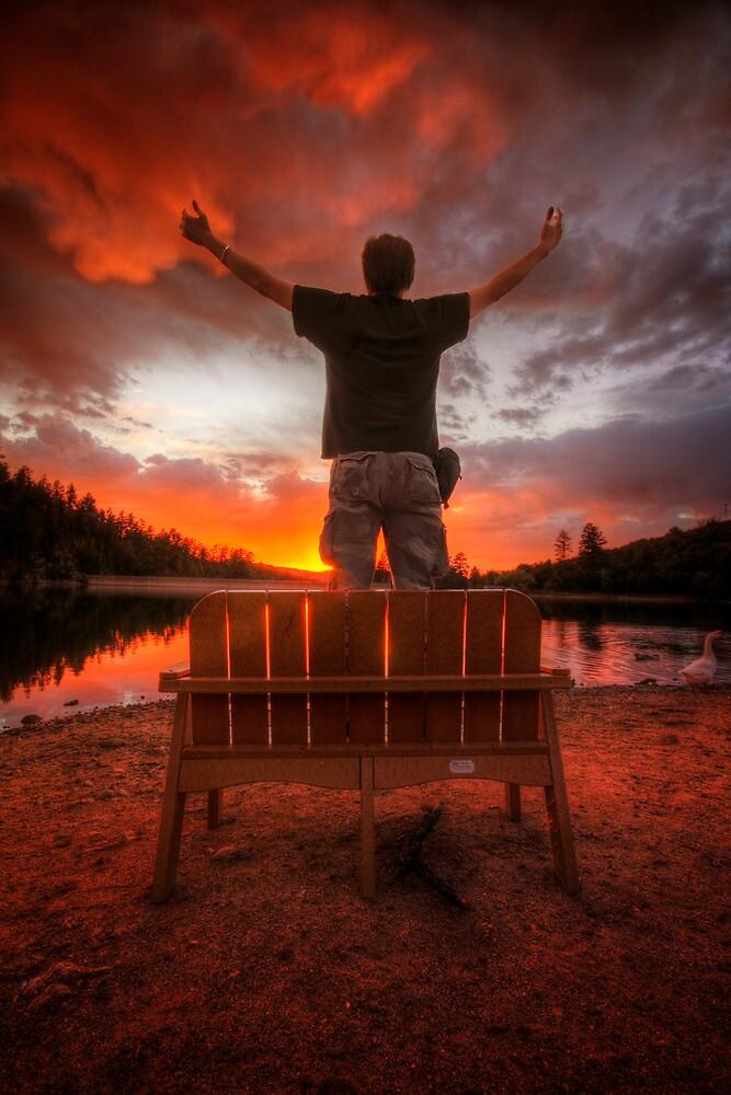 Sunset Man by Bob Larson